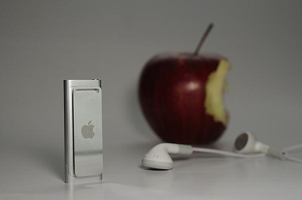 Apple, Ipod, Shuffle 4G, æble